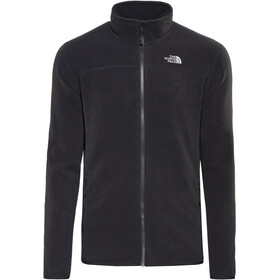 The North Face 100 Glacier Chaqueta con cremallera completa Hombre, tnf black